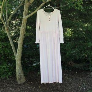 TALL Coldwater Creek VTG Comfy Maxi Dress Pink